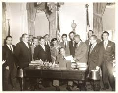 Governor Muñoz Marin, Felipe N. Torres and his wife Inocencia
