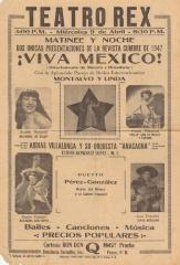 Teatro Rex announces two presentations of Viva Mexico!