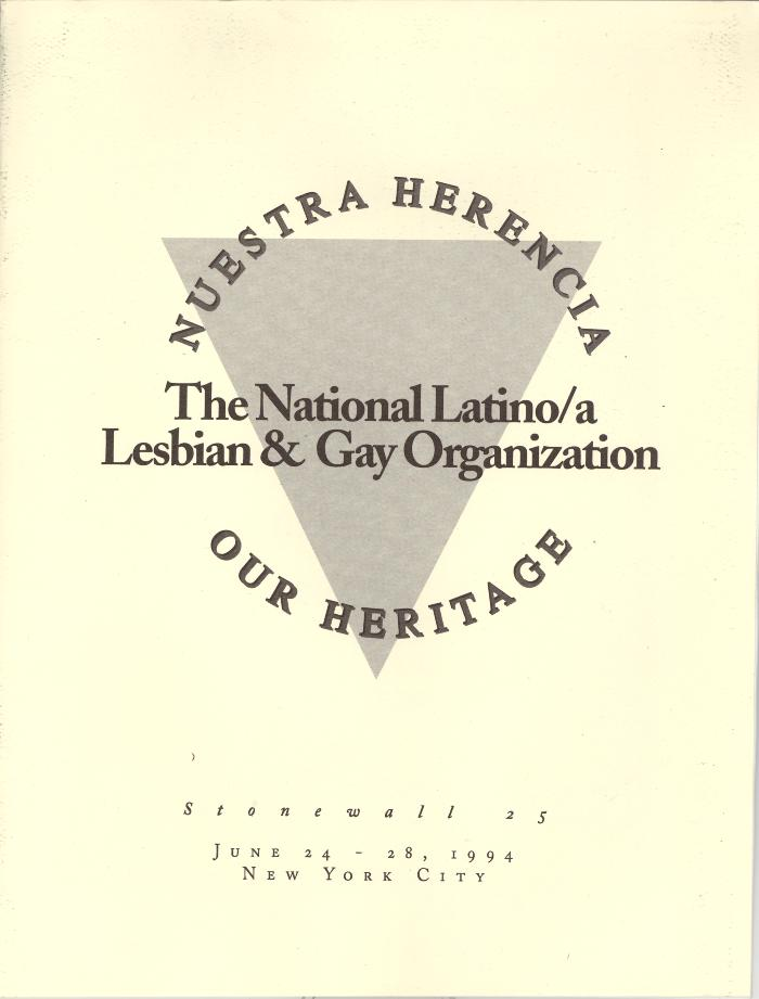 Nuestra Herencia - Our Heritage