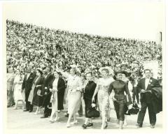 """Elected officials marching during the """"Fiesta de San Juan"""""""