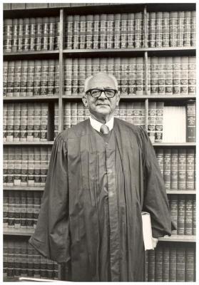Portrait of Judge Felipe N. Torres
