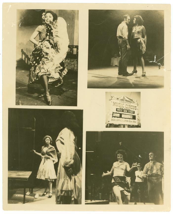 Anita Velez Mitchell on stage