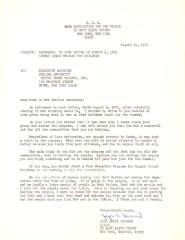 Correspondence from the Community Development Corporation in East Harlem