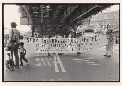 """Stop the Movie """"Fort Apache"""", It's Anti Puerto Rican, Anti Black (Committee Against Fort Apache)"""