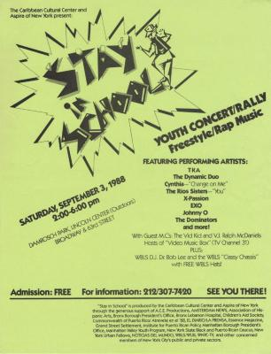 Stay in School - Youth Concert/Rally