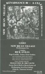 New Rican Village Renaissance (poster)