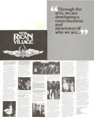 New Rican Village [back poster]