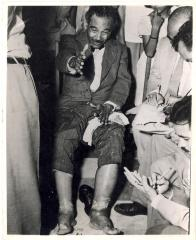 Albizu Campos Sitting In Chair With Swollen Legs