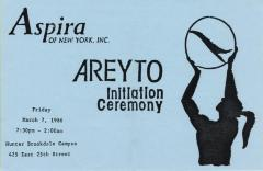 Areyto Initiation Ceremony