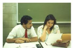 Luis O. Reyes and Diana Caballero
