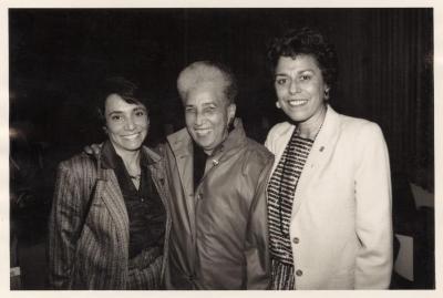 Antonia Pantoja, between Josephine Nieves and Digna Sanchez