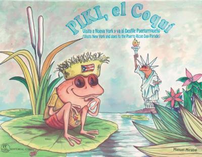 """""""Piki, el Coquí"""" visita a Nueva York y va al Desfile Puertorriqueño"""