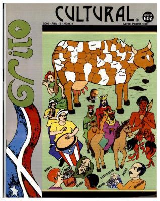 Grito Cultural magazine cover