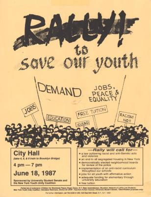 Rally to save our youth