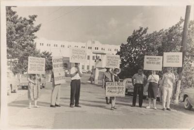 Women on a protest