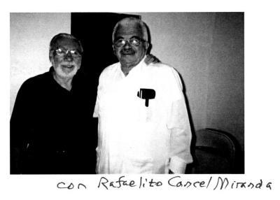 Gerena Valentín with Rafael Cancel Miranda