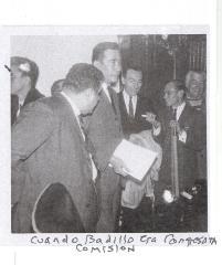 Cuando Badillo era Congresista Comisión