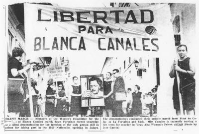 Libertad para Blanca Canales