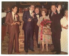 Banquet honoring Luisa Quintero