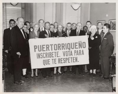 Puertorriqueño, Inscribite. Vota para que te Respeten