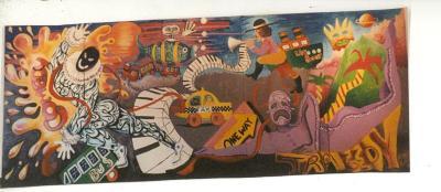 Mural at CHARAS
