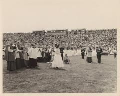 "Felipe N. Torres giving a speech during the ""Fiesta San Juan"""