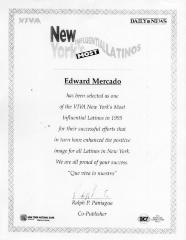 New York's Most Influential Latinos, Edward Mercado