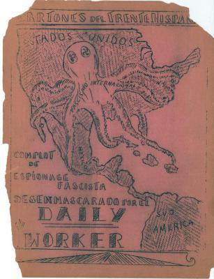 Back cover, Cartones del frente hispano