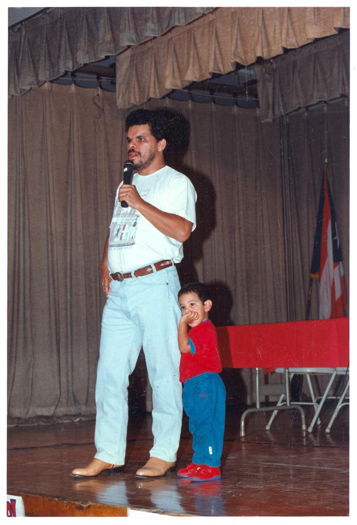 Actor Luis Guzman at ¡MUÉVETE! Boricua Youth Conference
