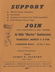 "Join at 40th ""Worker"" Anniversary"