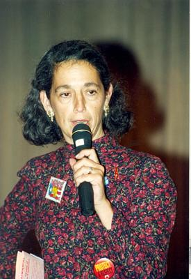 Ruth Messinger speaking at ¡MUÉVETE! Boricua Youth Conference