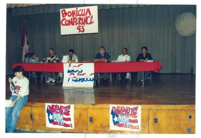 Panelist at ¡MUÉVETE! Boricua Youth Conference