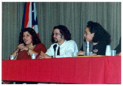 Panel discussion at the ¡MUÉVETE! Boricua Youth Conference