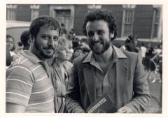 Richie Pérez (right) & Man