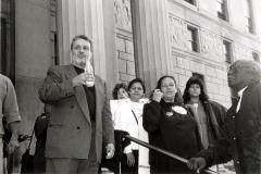 Richie Pérez Outside Courthouse