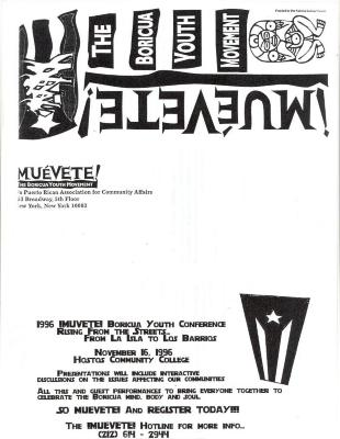 Muevete! The Boricua Youth Movement