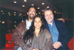 Richie Pérez with Man and Woman