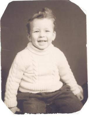 Richie Pérez baby picture