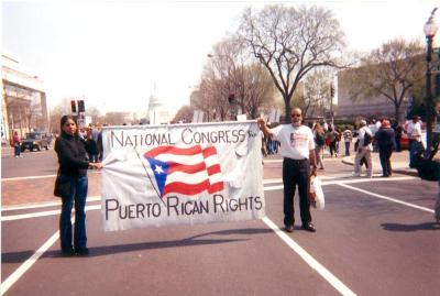 National Congress for Puerto Rican Rights Banner