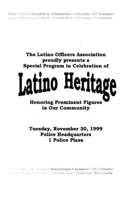 Latino Officers Program
