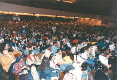 Audience at ¡MUÉVETE! Boricua Youth Conference at Hunter College