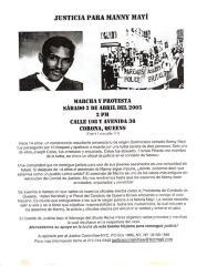 Justicia Para Manny Mayi / Justice for Manny Mayi