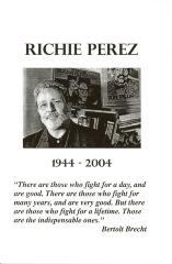 Richie Pérez memoriam