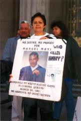 Protest for Manuel Mayi