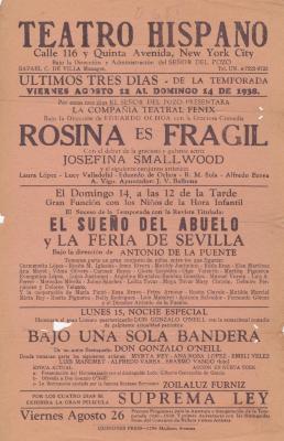 El Teatro Hispano
