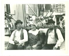 Paul Mondesire, Elba Cabrera, and Piri Thomas