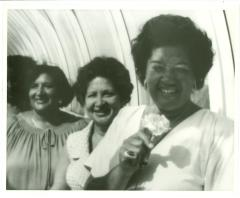 Elba Cabrera's graduation from State University of New York (SUNY) at Old Westbury