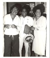 Elba Cabrera, Luis Melendez and Tato Laviera at AHA
