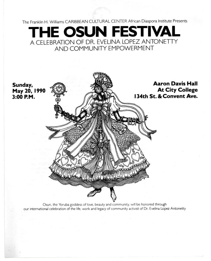 The OSUN Festival: A celebration of Dr. Evelina López Antonetty and Community Empowerment