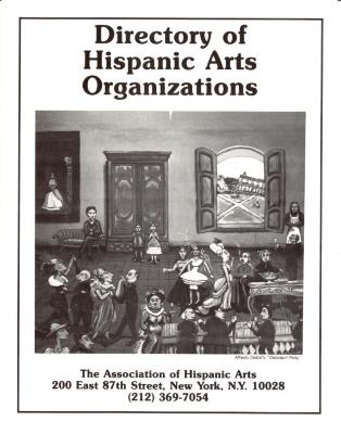 Directory of Hispanic Arts Organizations